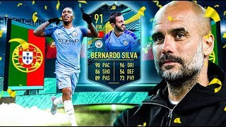 THE BEST MOMENTS SBC CARD?! 91 PLAYER MOMENTS SILVA PLAYER REVIEW! FIFA 20 Ultimate Team