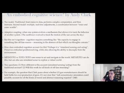 Unit 9: Embodied Cognition