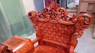 Chỉ có 17 triệu đồng, là quý khách sẽ sở hữu bộ Hoàng Gia gỗ Xà cừ Đỏ, lh 0987848979 của mình.
