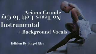 Ariana Grande - No Tears Left To Cry, (Instrumental + Background Vocals)