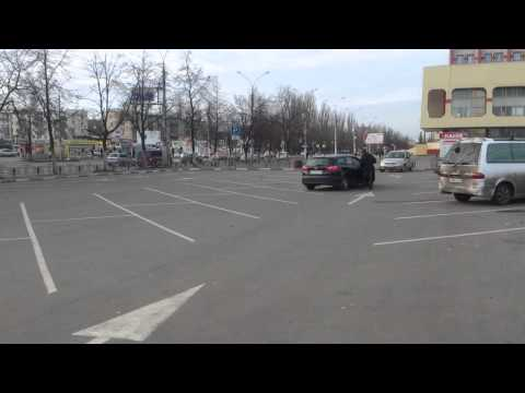 Парковка у ж/д вокзала г.Липецк 24.11.2013г.