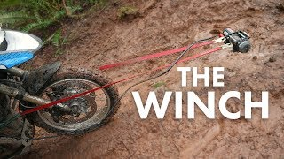 How to Use a Motorcycle Winch