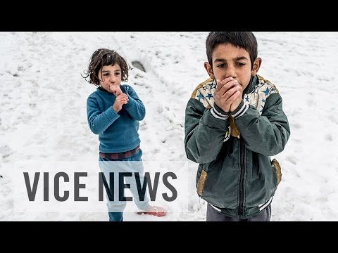 Freezing and Fighting for Aid: Syrian Refugees in Lebanon