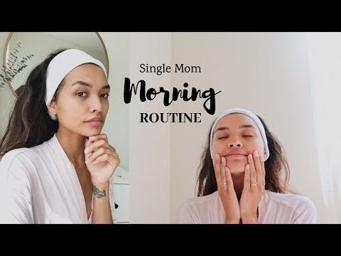 MY MORNING ROUTINE AS A SINGLE MOM    NICOLE ELISE