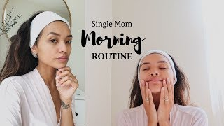 MY MORNING ROUTINE AS A SINGLE MOM || NICOLE ELISE
