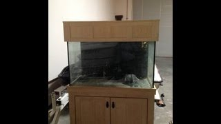 Custom 150 Gallon Fish Tank