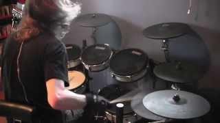 """Soilwork """"Leech"""" - EZdrummer 2 playthrough version"""