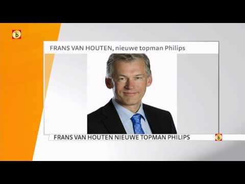 Frans van Houten nieuwe topman Philips