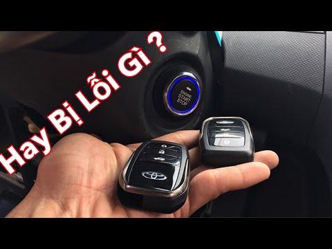Smart Key Và Những Lỗi Không Đề Nổ Máy Được Trên ÔTô  AE nên Biêt