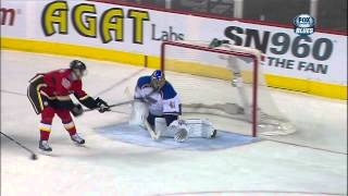 Roman Cervenka nice backhand goal 2-0 Mar 24 2013 St. Louis Blues vs Calgary Flames NHL Hockey