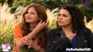 Violetta 2 Ludmila canta Ven y Canta y se tropieza y Federico la ayuda Fedemila!!!! (Capitulo 48)