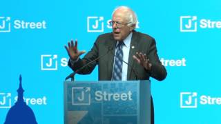 Senator Bernie Sanders Addresses J Street's 2017 National Conference