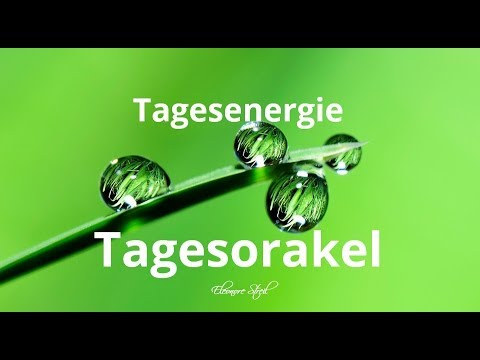 Tagesorakel Donnerstag  15.11.2018 -  Motto Erzengel Raphael