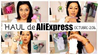 HAUL DE ALIEXPRESS - TOUS,NYX, ANILLO TWEEXY Y MAS