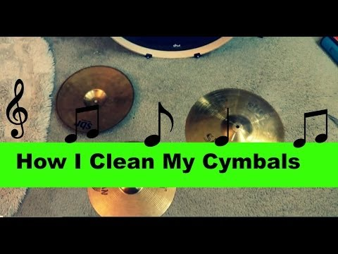 How I Clean My Cymbals