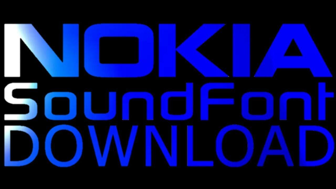 👉 5 Nokia SoundFonts DOWNLOAD ( sf2)