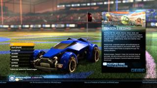 Rocket League| How To Play Split Screen | PS4