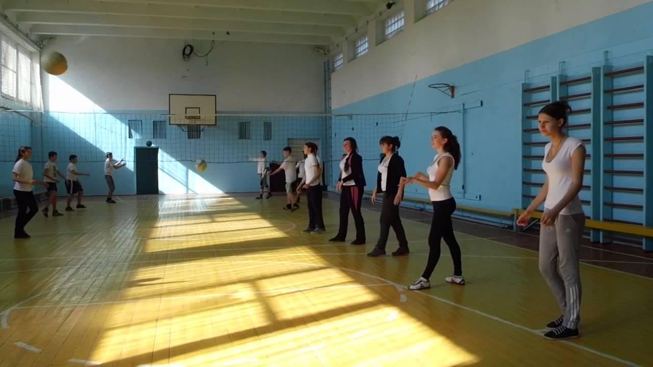 урок волейбол