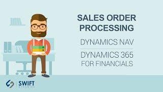 Sales Order Processing in Dynamics NAV