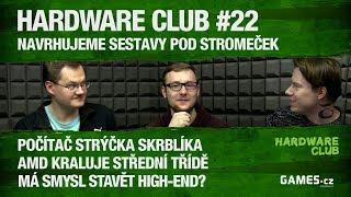 Hardware Club #22: Navrhujeme herní počítače pod stromeček