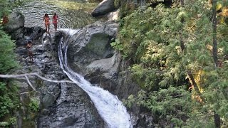 Cliff Jumping - Lynn Canyon (HD) (BEST PLACE!)