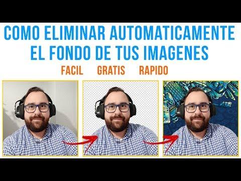 COMO ELIMINAR FONDO IMAGENES HACERLAS TRANSPARENTES www.remove.bg