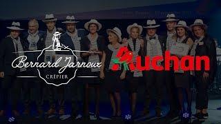 #GRESDOR2017 Creperie JARNOUX et Auchan