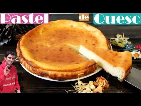 Pastel de queso fácil al horno
