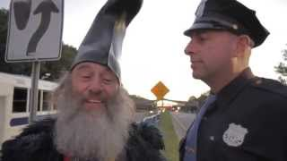 Vermin Supreme and Rob Potylo Attempt to Enter Presidential Debate at Hofstra University
