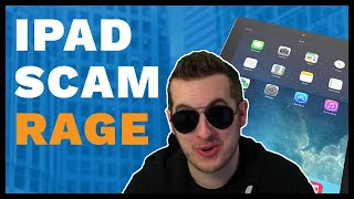Apple iPad Scammer Rages When Caught