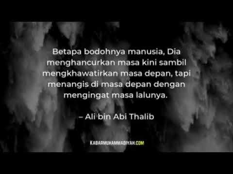 Kata Kata Mutiara Terbaik Ali Bin Abi Thalib