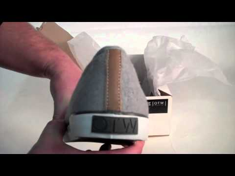 fc0f0358ed Vans OTW Woessner Shoes Distressed Denim Pewter UNBOXING - YouTube