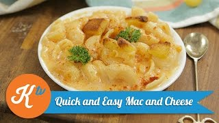 Resep Quick and Easy Mac and Cheese | YUDA BUSTARA