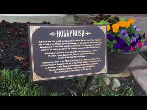 Short Video about Hollybush Mansion and the Glassboro Summit