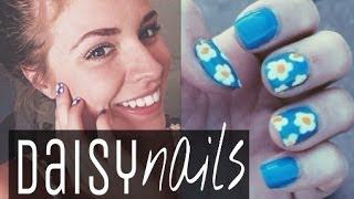 ✿ Springtime Daisy Nail Art Tutorial ✿ Thumbnail