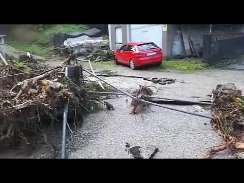 Xunqueira, un barrio devastado