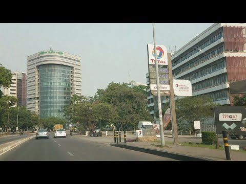 Accra City Tour. Some principal streets of Accra + Location
