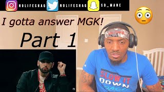 """I gotta answer this MF'"" Eminem x Sway - The Kamikaze Interview (Part 1) REACTION"