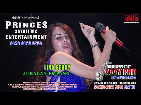 JAZZY PRO - PRINCES ENTERTAINMENT - JURAGAN EMPANG - LINA GEBOY