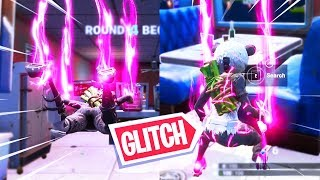 ANNOYING TRAIL GLITCH DURING SKYWARS!! MAP OF a VIEWER in FORTNITE!
