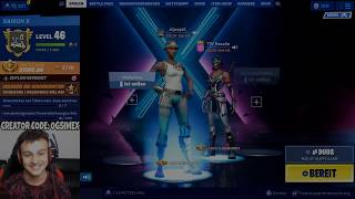 I STREAMSNIPE a GIRL with RECON EXPERT and she RASTET OFF with OG SKINS in Fortnite German!
