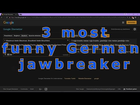 3 Most Funny German Proverbs, Tongue Twisters, Jawbreakers