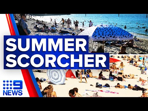 Sydney heatwave to intensify over coming days | 9 News Australia thumbnail