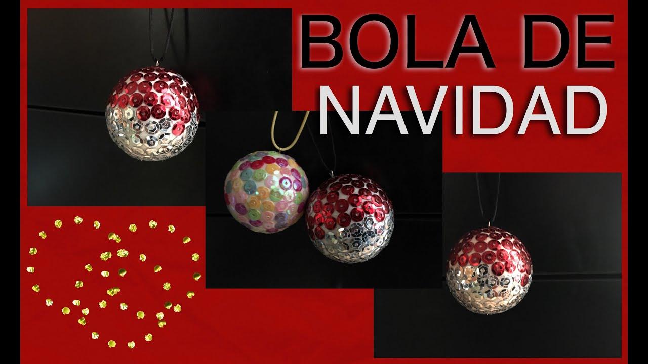 Como hacer una bola de navidad para decorar youtube - Bolas para decorar ...