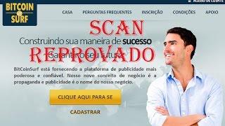 O site Bitcoin Surf (SCAM) REPROVADO