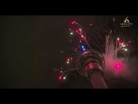SKYCITY Auckland - New Year's Fireworks Display 2019