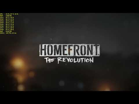 Homefront: The Revolution Free Weekend - on a GTX 970