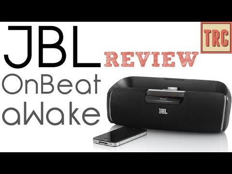 JBL OnBeat aWake Bluetooth Speaker doc Review
