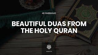40 Beautiful Duas from the Holy Quran with Eng meaning | Ramadan 2020 | Rabbana Duas | Umar Basheikh screenshot 2