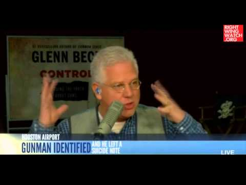 Glenn Beck Wants To Know If Airport Shooter 'Ever Attended Any Occupy Wall Street Stuff'